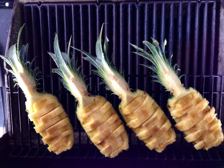 Broil King Holzkohlegrill Ananas Grillen