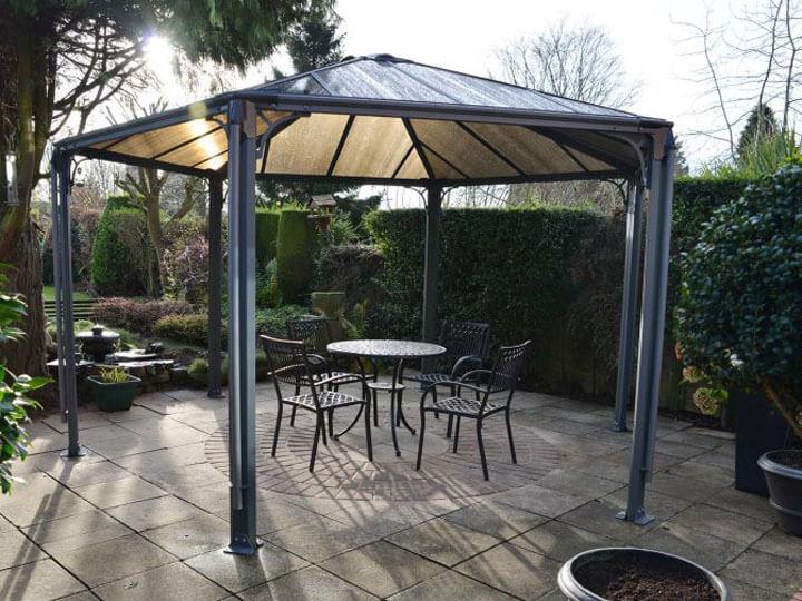 Gartenpavillon mit Hardtop online kaufen | mygardenhome