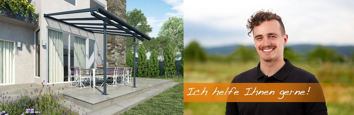 Gut bekannt Terrassenüberdachung Baugenehmigung | mygardenhome GI91