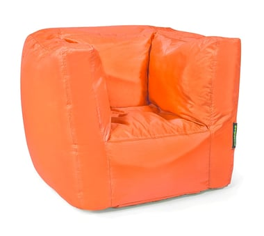 Pushbag Sitzsack Cube orange