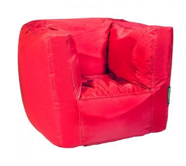 Pushbag Sitzsack Cube rot