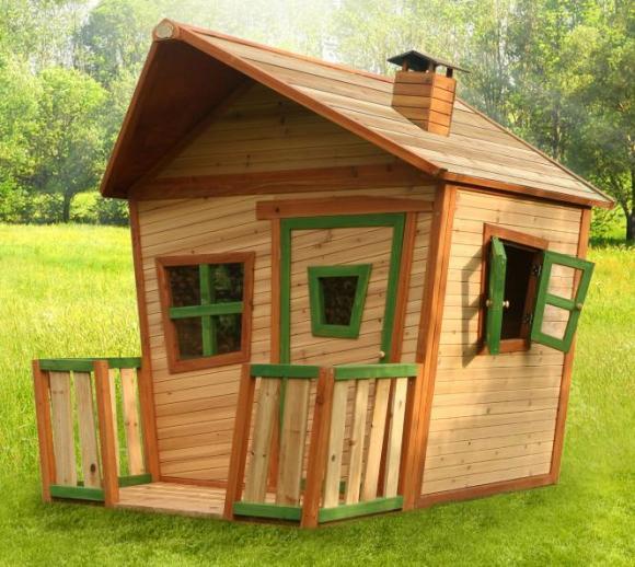Axi Kinderspielhaus Jesse inkl. Veranda & Fenster