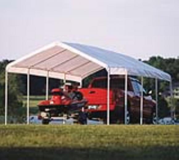 ShelterLogic Super Max Canopy, 370x790 cm in weiß