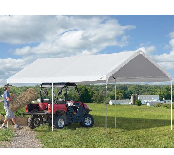 ShelterLogic Pavillon mit extra schnellem Aufbau, 300x610 cm