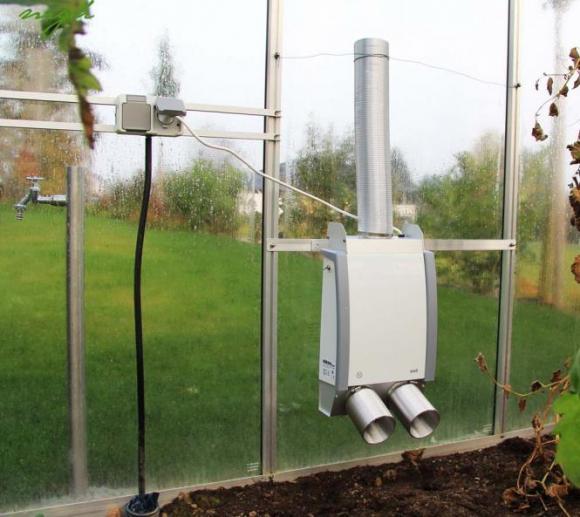 Elektrotherm 5-Kanal-Gewächshausheizung inkl. Thermostat-Einstellknopf