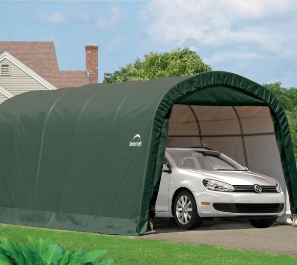 ShelterLogic Foliengarage Round Top 18,3 m², 300x610 cm