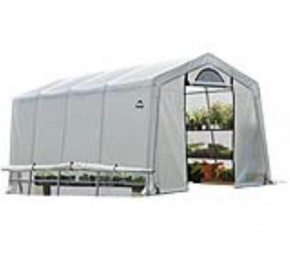 ShelterLogic Foliengewächshaus, 18,3m², 300x610 cm