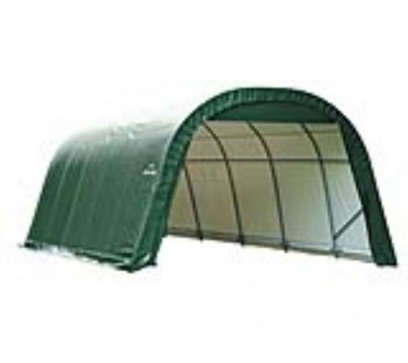 ShelterLogic Foliengarage Round Top 27 m², 370x730 cm