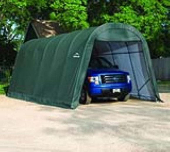 ShelterLogic Foliengarage Round Top 29,2 m², 400x730 cm
