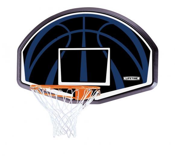 Lifetime Basketballbackboard Dallas inkl. Korb und Nylon-Netz