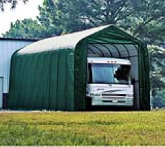 ShelterLogic Foliengarage, Folienscheune 57,62 m², 430x1340 cm