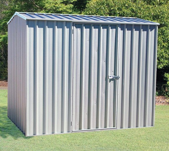 Absco Metallgerätehaus, Gartenhaus silber-metallic, 226x152 cm