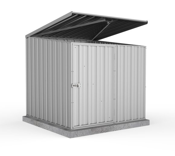 Absco Metallgerätebox silber-metallic, 152x152 cm
