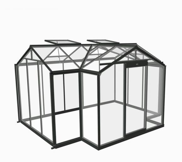ACD Aluminium Glas Gewächshaus/Orangerie Aurelie