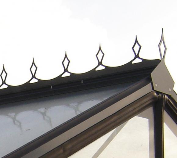 Viktorianisches Ornament für ACD Gewächshäuser
