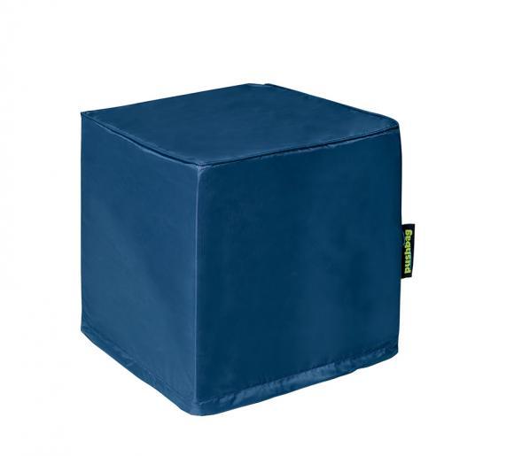 Pushbag Sitzsack, Sitzwürfel, Sitzkissen Alea Oxford marina blau