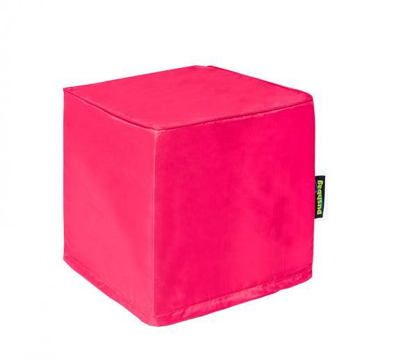 Pushbag Sitzsack, Sitzwürfel, Sitzkissen Alea Oxford pink