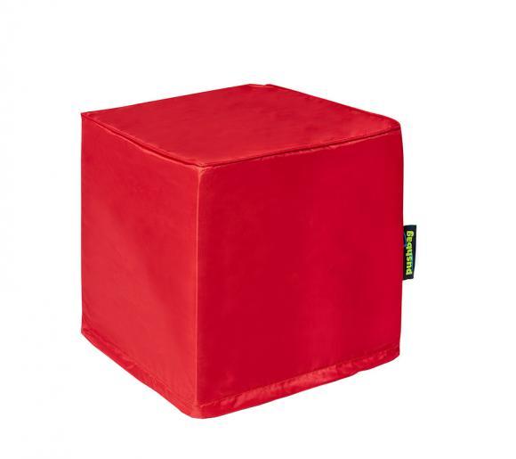 Pushbag Sitzsack, Sitzwürfel, Sitzkissen Alea Oxford rot