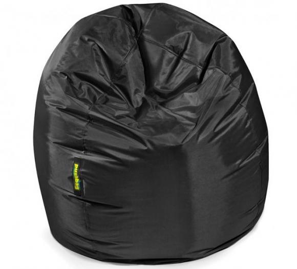 Pushbag Sitzsack, Sitzkissen Bag 300 Oxford schwarz
