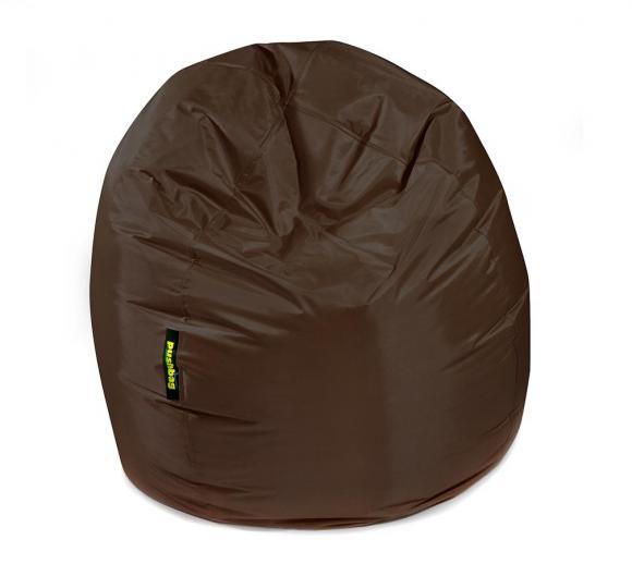 Pushbag Sitzsack, Sitzkissen Bag 300 Oxford Braun
