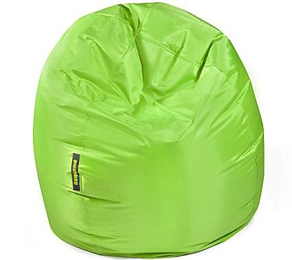 Pushbag Sitzsack, Sitzkissen Bag 300 Oxford lime