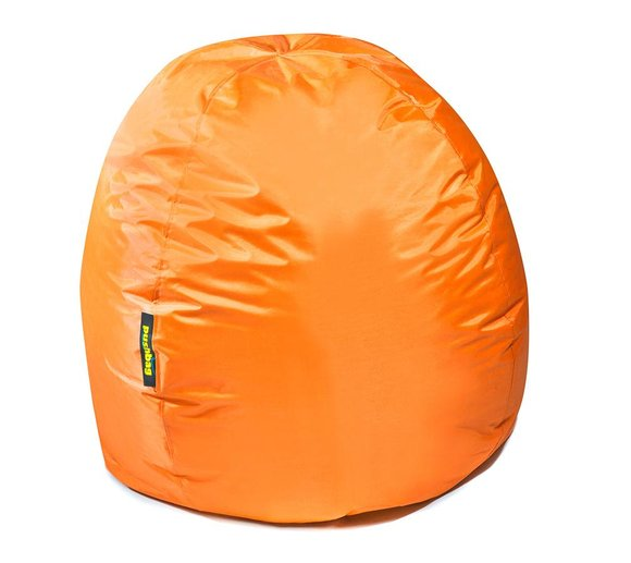 Pushbag Sitzsack, Sitzkissen Bag 300 Oxford Orange