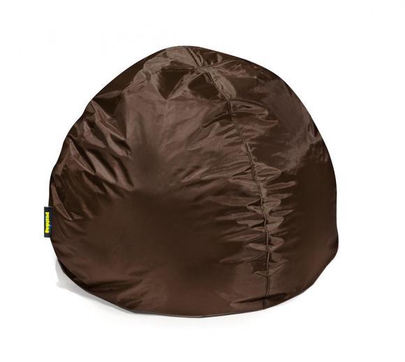 Pushbag Sitzsack, Sitzkissen Bag 500 Oxford Braun