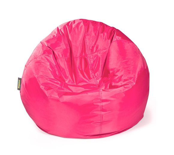 Pushbag Sitzsack, Sitzkissen Bag 500 Oxford pink