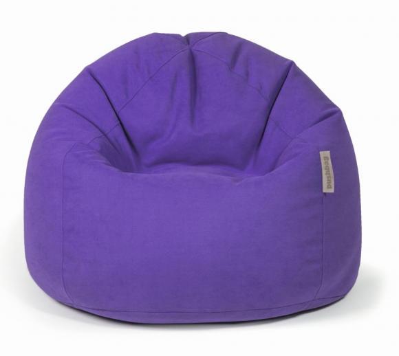 Pushbag Sitzsack, Sitzkissen Bag 500 Soft violett