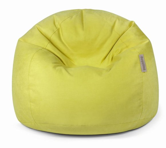 Pushbag Sitzsack, Sitzkissen Bag 500 Soft lime