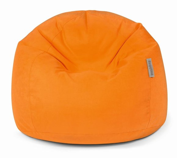 Pushbag Sitzsack, Sitzkissen Bag 500 Soft orange