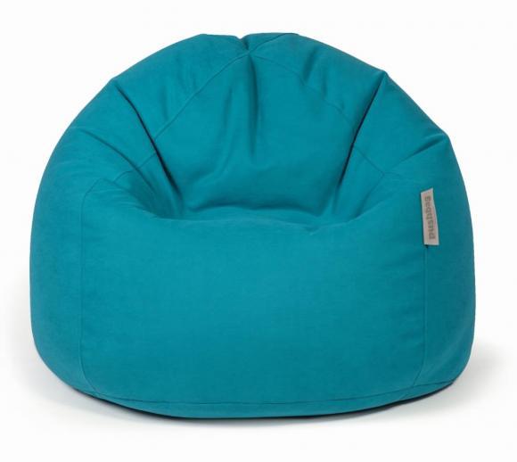 Pushbag Sitzsack, Sitzkissen Bag 500 Soft petrol blau