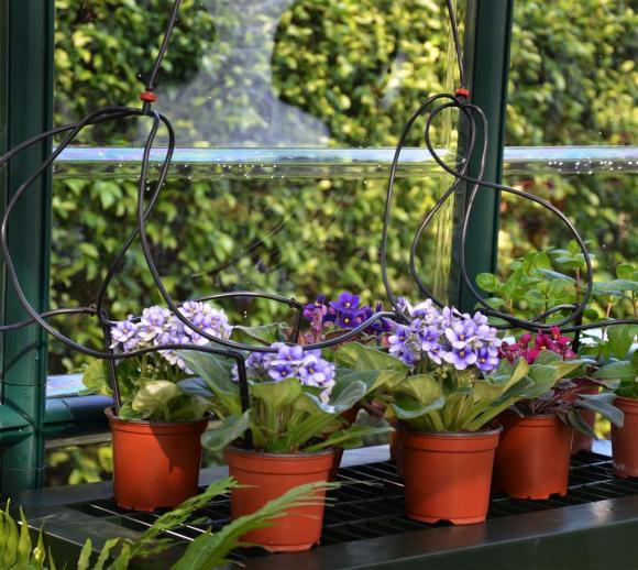 Bewässerungs-Kit passend zu jedem Rion Gewächshaus, 10m