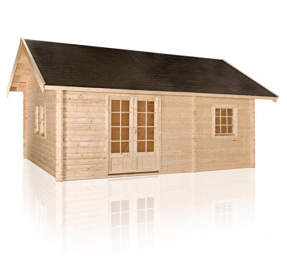 Outdoor Life Gartenhaus Caroline, 40mm, 685x490 cm