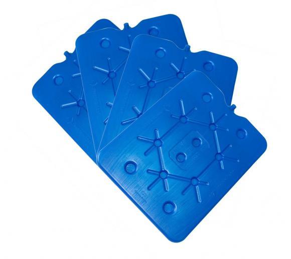 Connabride Kühlakku, Freezeboard für Kühltasche und Kühlboxen 8er Set 400g