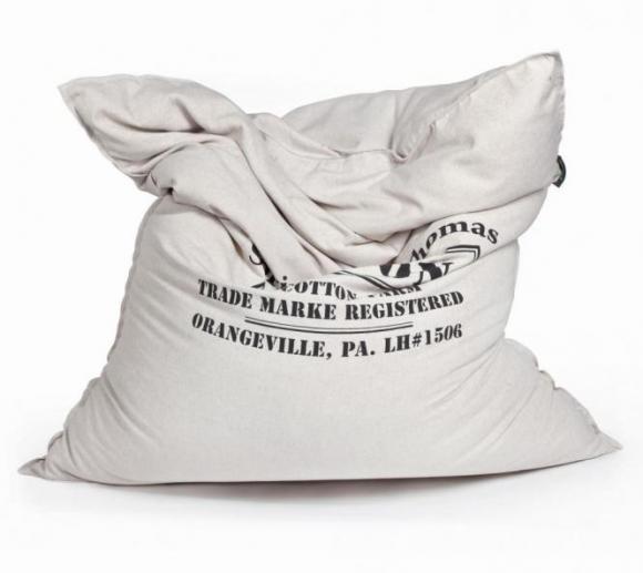 Pushbag Sitzsack, Sitzkissen, Sitzmöbel Classic Canvas Cotton Bag