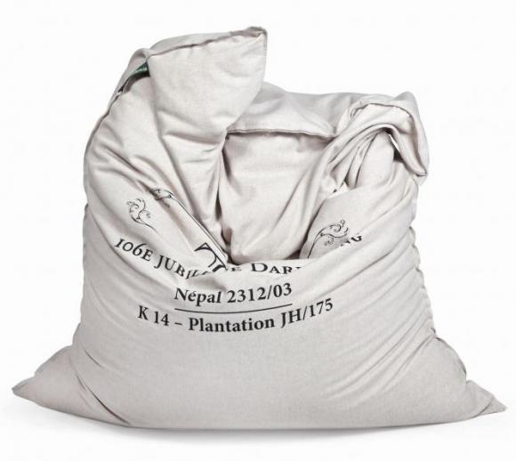 Pushbag Sitzsack, Sitzkissen, Sitzmöbel Classic Canvas Thé Bag