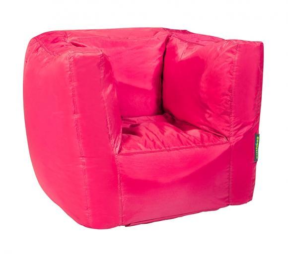Pushbag Sitzsack, Sitzsessel Cube Oxford pink