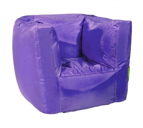Pushbag Sitzsack, Sitzsessel Cube Oxford Purple