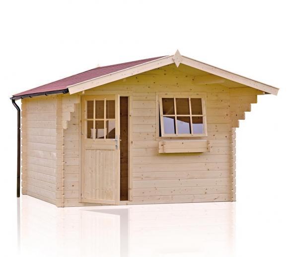 Outdoor Life Gartenhaus Dave 250, 28mm, 340x410 cm