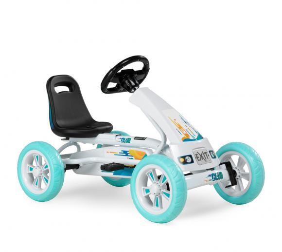 EXIT Go-Kart Kinder-Kettcar Foxy Club weiß/blau