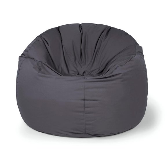 Outbag Sitzsack, Sitzkissen, Sitzsessel Donut Plus anthrazit