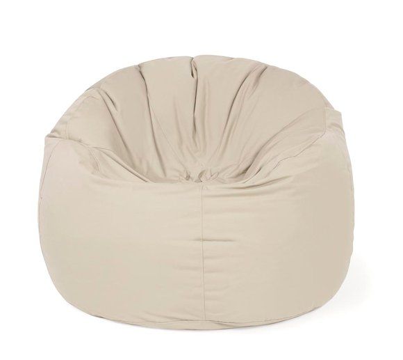 Outbag Sitzsack, Sitzkissen, Sitzsessel Donut Plus beige