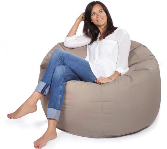 Outbag Sitzsack Donut Plus mud Sitzkissen Sitzsessel