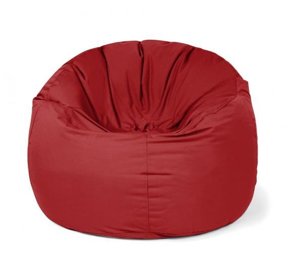 Outbag Sitzsack, Sitzkissen, Sitzsessel Donut Plus rot