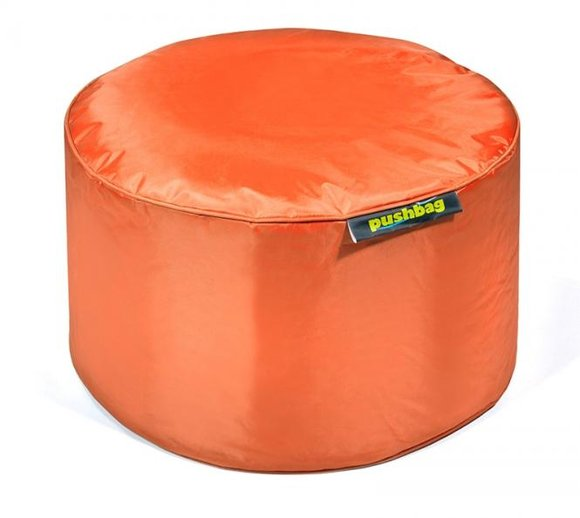 Pushbag Sitzsack, Sitzhocker Drum Oxford orange