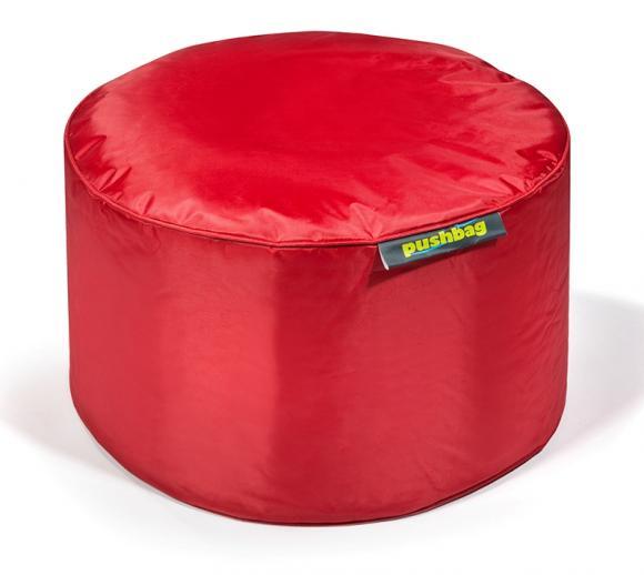 Pushbag Sitzsack, Sitzhocker Drum Oxford rot