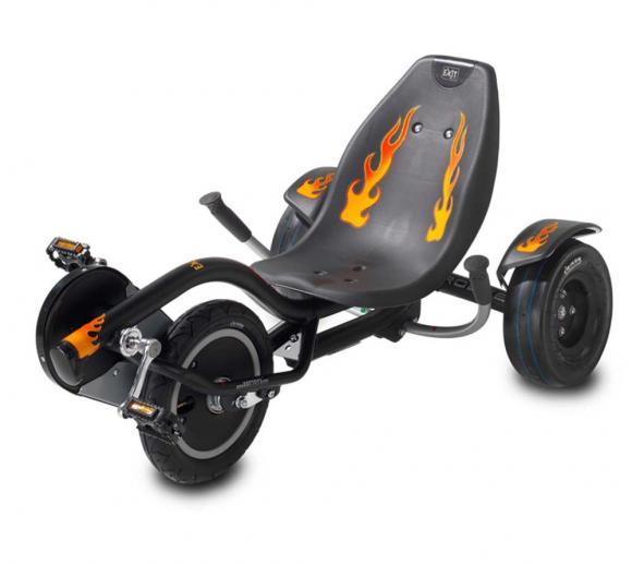 EXIT Fun-Kart Trike Dreirad Rocker Fire