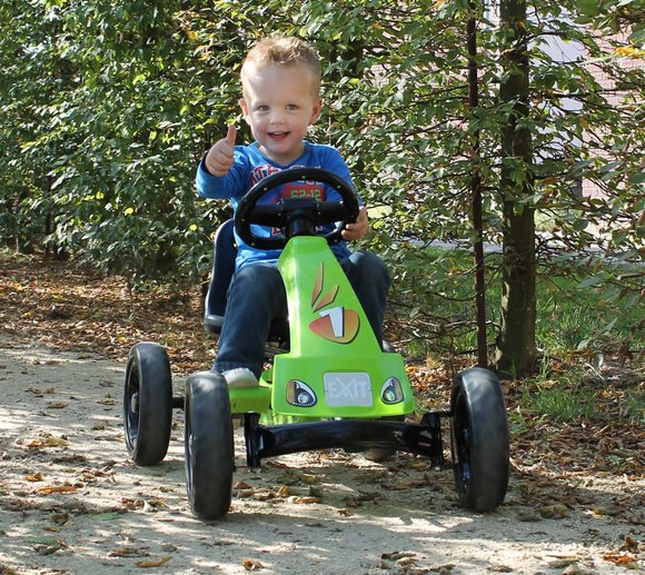 EXIT Go-Kart Kinder-Kettcar Foxy Pedal Green