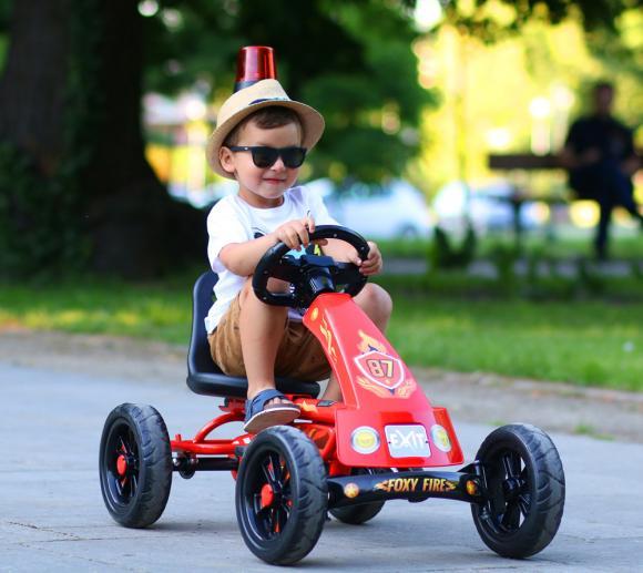 EXIT Go-Kart Kinder-Kettcar Foxy Fire